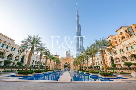Office for Sale in Old Town, Dubai -  Lake View