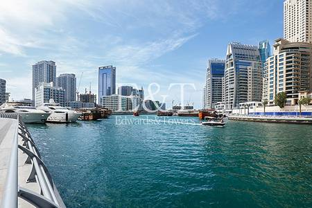 Shop for Sale in Dubai Marina, Dubai - Fitted Restaurant Unit with Marina View