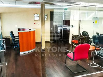 Office for Rent in Jumeirah Lake Towers (JLT), Dubai - Fully Furnished | Glass Partition Office