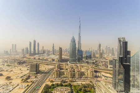 Amaizng 1 bedroom with full burj view