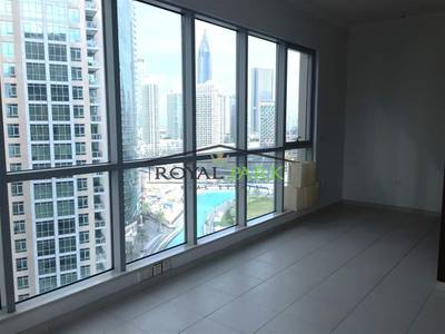 2 Bedroom Apartment for Rent in Downtown Dubai, Dubai - 2 BR Unfurnished @ The Residences 6 For RENT