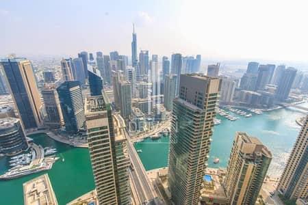 بنتهاوس 4 غرف نوم للبيع في جميرا بيتش ريزيدنس، دبي - Upgraded and Huge 4BR Penthouse|Sea View