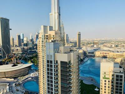 2 Bedroom Flat for Rent in Downtown Dubai, Dubai - Luxury 2Bedroom | Burj and Fountain View