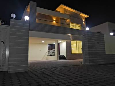 5 Bedroom Villa for Sale in Al Mowaihat, Ajman - VIP Villa Luxury finishing location close toall services free ownership with the possibility of bank
