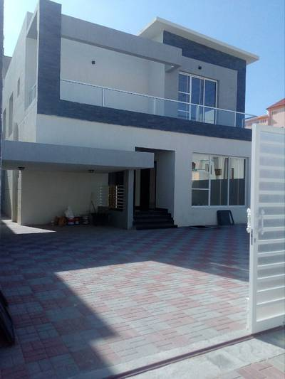 5 Bedroom Villa for Sale in Al Mowaihat, Ajman - New villa Modern free ownership of all nationalities with the possibility of bank financing