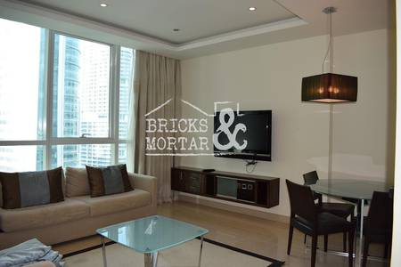 1 Bedroom Apartment for Rent in Jumeirah Lake Towers (JLT), Dubai - Lake View | Fully Furnished | Multi Cheque