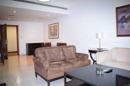 1 Bedroom Flat for Rent in The Greens, Dubai - Multi Cheques|Fully Furnished|Chiller Inc.