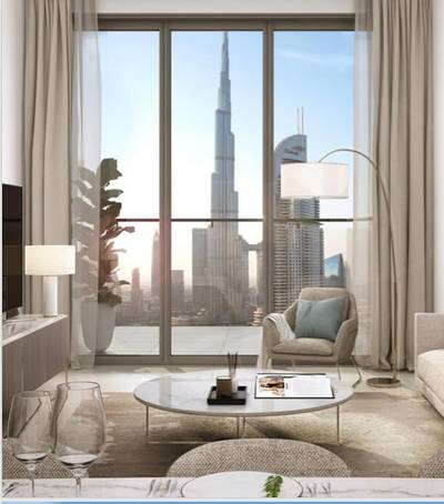 1 Bedroom Flat for Sale in Downtown Dubai, Dubai - Pay 50K and invest a few steps from Burj khalifa