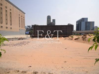 Plot for Sale in Dubai Media City, Dubai - SZR and Media City Facing Mixed Use Plot
