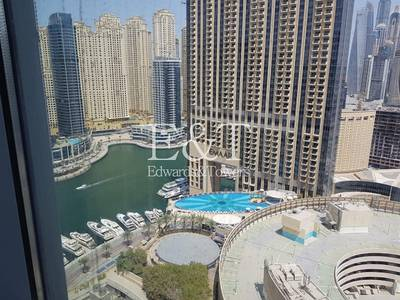 Office for Sale in Dubai Marina, Dubai - Stunning Fitted Office Unit on High Floor