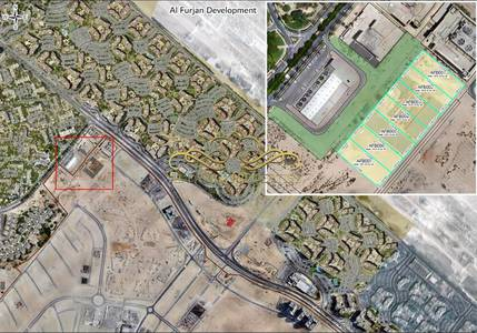Mixed Use Land for Sale in Al Furjan, Dubai - Mixed use (Residential with Retail) for Sale-Al Furjan