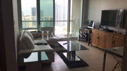1 Bedroom Flat for Sale in The Views, Dubai - High Floor 1BR | Canal View | Rented