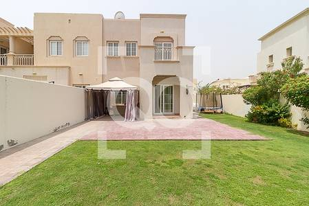 2 Bedroom Villa for Rent in The Springs, Dubai - Springs 3 Type  4E 2 Bedrooms With Study | Ready Garden