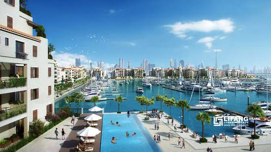 1 Bedroom Apartment for Sale in Jumeirah, Dubai - PANORAMIC SEA-VIEW AND A HINT OF MARINA LIFESTYLE