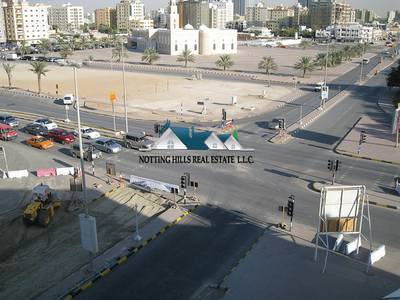 Industrial Land for Sale in New Industrial City, Ajman - Open Land with Shed available for sale in New industrial Area