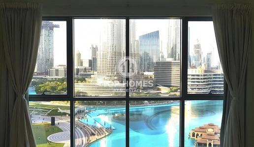 فلیٹ 3 غرفة نوم للايجار في وسط مدينة دبي، دبي - Best price! Enjoy beautiful fountain views from your apt