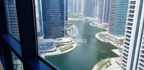 Office for Rent in Jumeirah Lake Towers (JLT), Dubai - Enjoy refreshing views from this beautiful office!