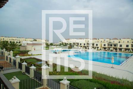 4 Bedroom Villa for Sale in Al Hamra Village, Ras Al Khaimah - 4BR The Bayti Townhomes with Pool View