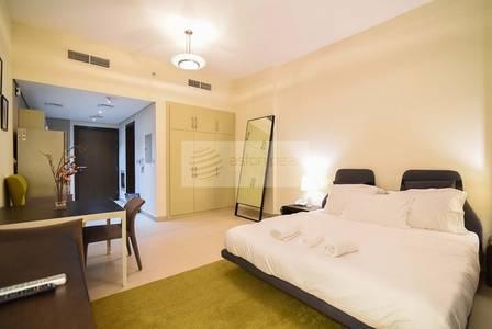 Studio for Rent in Al Sufouh, Dubai - Furnished  STUDIO | Low Floor | Sea View