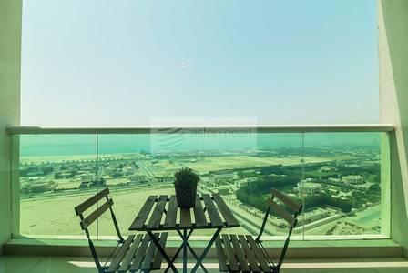 استوديو  للايجار في الصفوح، دبي - Furnished STUDIO | High Floor | Sea View