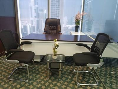 Office for Rent in Sheikh Zayed Road, Dubai - FULLY FURNISHED & SERVICED ROYAL OFFICES ON MARVELOUS LOCATION OF SHEIKH ZAYED ROAD  NEAR TO FINANCIAL  CENTER METRO