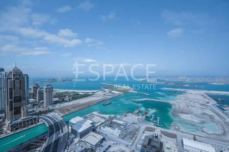 2 Bedroom Flat for Sale in Dubai Marina, Dubai - Full Sea View   Well Maintained   Balcony
