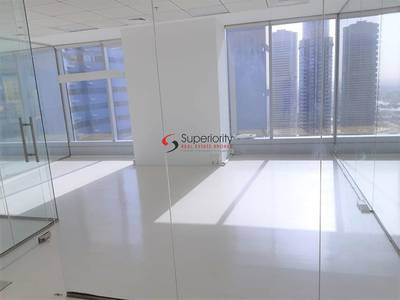 Office for Rent in Jumeirah Lake Towers (JLT), Dubai - 1 month free rent - Fully Fitted Office For Rent in Saba Tower JLT