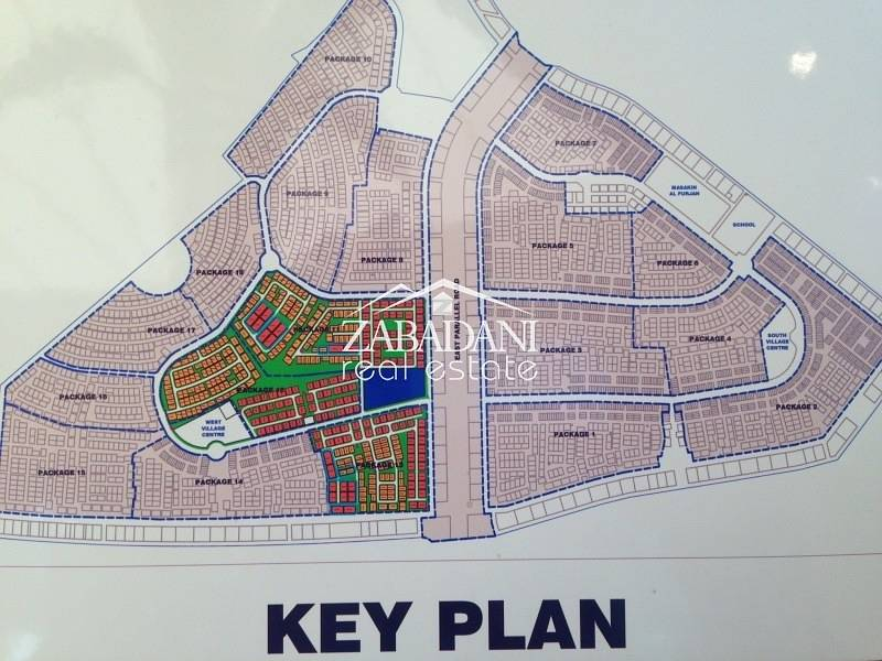 12 G+1 Villa Plot at a Prime Location in Al Furjan for Sale