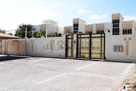 5 Bedroom Villa for Rent in Khalifa City A, Abu Dhabi - Grand Stand Alone 5 Bedroom Villa with Pool and Parking