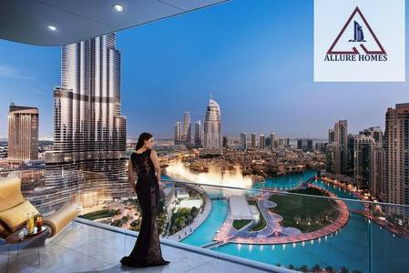 2 Bedroom Apartment for Sale in Downtown Dubai, Dubai - 2 Beedroom From Emaar / 50 % DLD waiver With Burj Khalifa View and Fountain View / 5 % Booking/ 1,450,000 AED