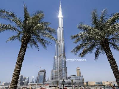 Studio for Sale in Downtown Dubai, Dubai - Burj Khalifa | Spacious Studio | Vacant.