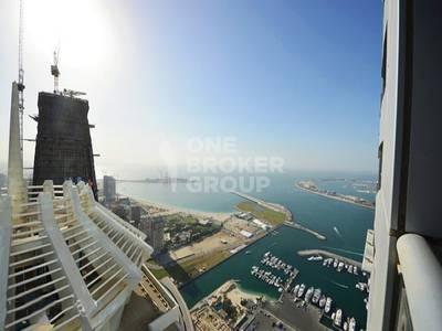 2 Bedroom Flat for Sale in Dubai Marina, Dubai - Exclusive Vacant High Floor Sea Marina