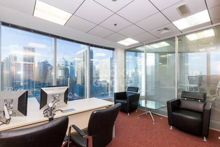 Office for Rent in Jumeirah Lake Towers (JLT), Dubai - 1 Month Free | Office with Six Parking