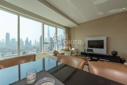 2 Bedroom Flat for Sale in Business Bay, Dubai - Bargain Home|2BR|Maid|Burj View|Top Floor