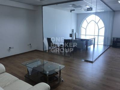 Office for Rent in Jumeirah Lake Towers (JLT), Dubai - Price Reduction! Furnished Dome Tower