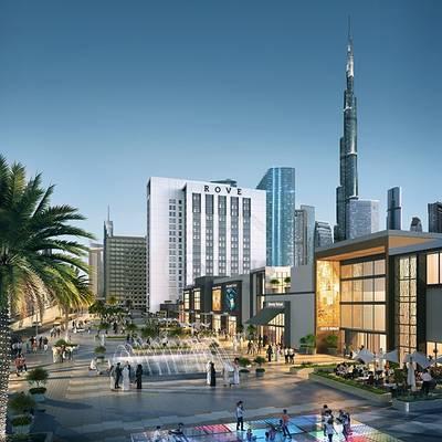 Studio for Sale in Jumeirah, Dubai - Rove City Walk From AED 733,888* | 8% ROI*