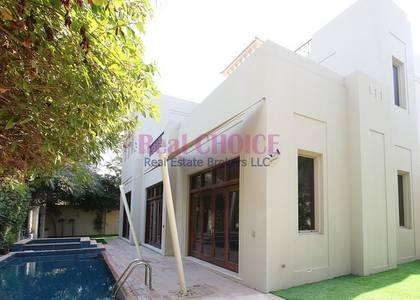 6 Bedroom Villa for Rent in Al Barari, Dubai - Camellia Villa |Type C6| 6BR Plus Study