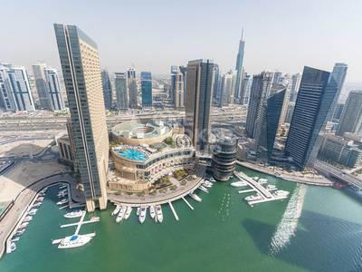 1 Bedroom Flat for Sale in Dubai Marina, Dubai - Biggest layout / best priced 1 Bed Apt / Marina Views