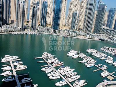 2 Bedroom Flat for Rent in Dubai Marina, Dubai - Full Marina View