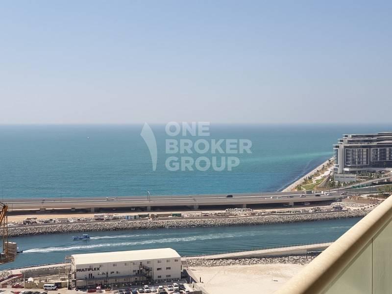 Spectacular Sea and Dubai Eye views