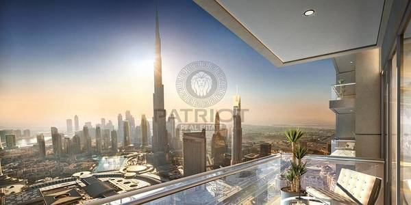 2 Bedroom Flat for Sale in Downtown Dubai, Dubai - 3 YEARS POST HAND OVER/5% DOWN PAYMENT /2 BEDROOM APARTMENT