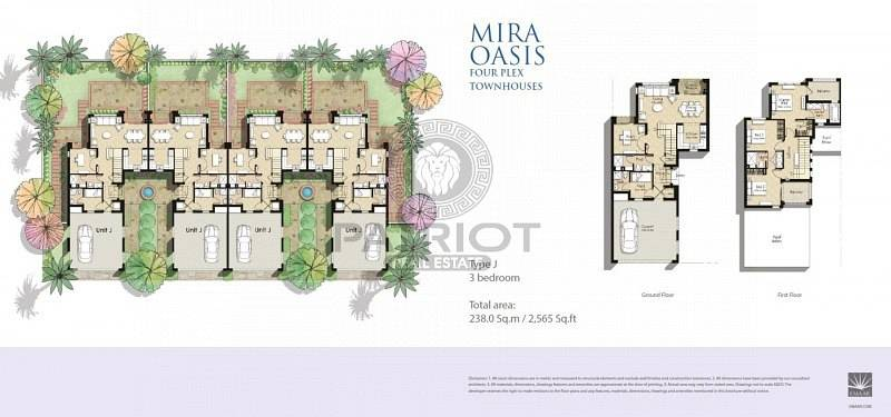 11 Luxury & Modern| Mira oasis 1 | Type  J | 4 Bedroom