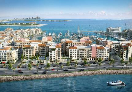 1 Bedroom Flat for Sale in Jumeirah, Dubai - Marina View | 5% on Booking | La Rive PDLM