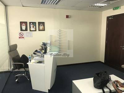 Office for Sale in Jumeirah Lake Towers (JLT), Dubai - Furnished Fitted Office in Platinum Tower for Sale  AED 1.1M