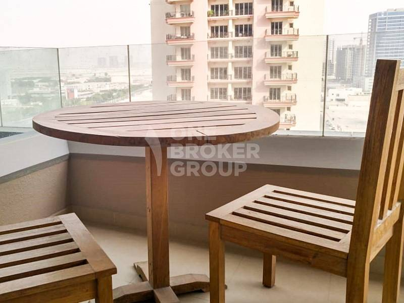 19 Furnished Studio High Floor with Balcony