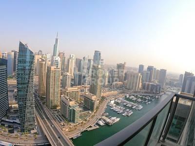 3 Bedroom Flat for Sale in Dubai Marina, Dubai - Full Marina View