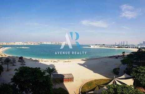 3 Bedroom Apartment for Sale in Palm Jumeirah, Dubai - Exclusive | Full Sea View | Right Side | Vacant 3 Bed  Maid | Type A