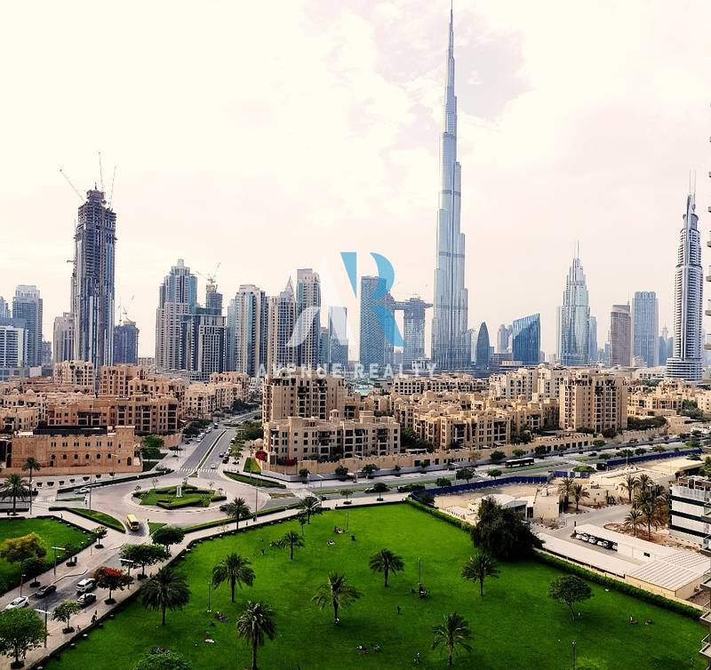Elegant 3 bed  Maids | Full Burj Khalifa View | Vacant | Downtown Dubai
