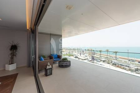 5 Bedroom Penthouse for Sale in Jumeirah Village Circle (JVC), Dubai - NY Simplex 5 Bed on West Crescent Beach