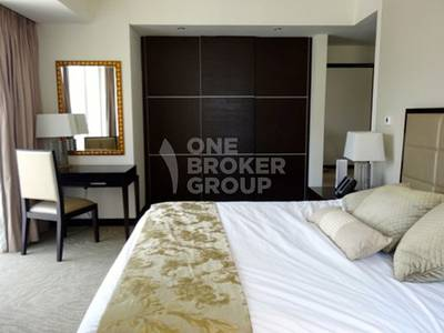 1 Bedroom Apartment for Rent in Dubai Marina, Dubai - Fully Furnished 1 Bed Apt Middle Floor